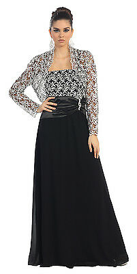 Long Mother of the Bride Plus Size Dress Formal Gown