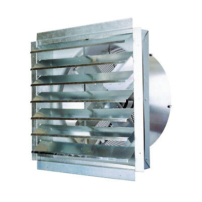 Ventamatic IF30 30-Inch 5,500-CFM Heavy Duty Industrial Exhaust Fan with Shutter