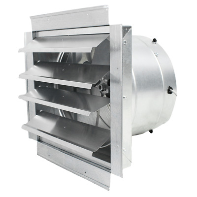 Ventamatic IF14 14-Inch 1,400-CFM Heavy Duty Exhaust Fan with Shutter - IF14UPS
