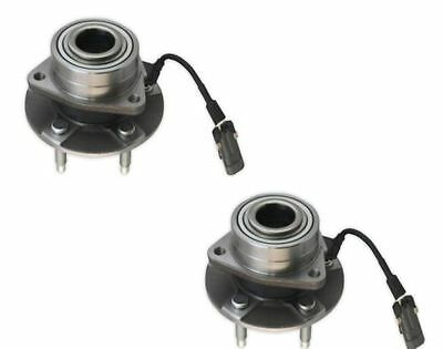 Pair (2) Front Wheel Hub Bearing for 2005 Chevrolet Equinox for 4 WHEEL ABS Only