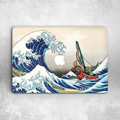 Kanagawa Wave Legend Of Zelda Japan Hard Cover Case Macbook Pro Air 11 16 13 15