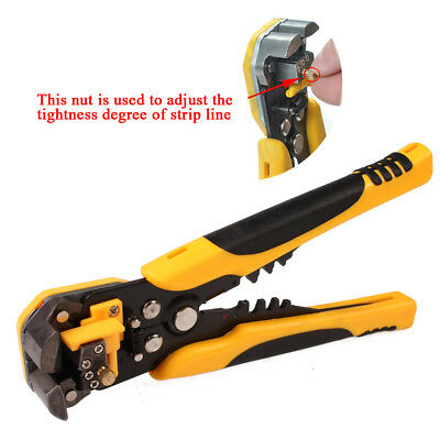New Automatic Wire Cutter Stripper Crimping Tool Plier Electrical Cable Crimper