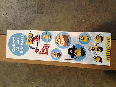 Minions Stickers From Vending Machine