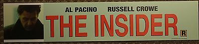 The Insider, Large (5X25) Movie Theater Mylar Banner/Poster