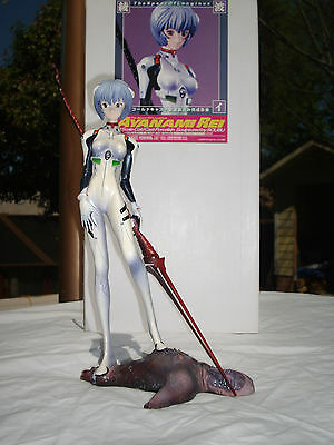 Evangelion Ayanami Rei 1/8 Spear of Longinus Kaiyodo Soubu Sculpture