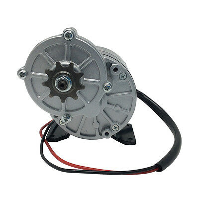 MY1016Z3 Electric Tricycle Brush DC Motor 36V 350W 300RPM 9 Tooth Sprocket DIY