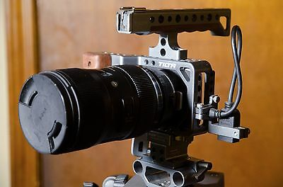 TiLTA Professional BMPCC Blackmagic Pocket Cinema Camera Cage Rig W/ Top Handle