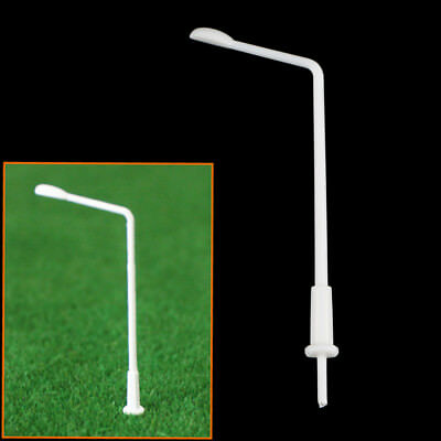 40 x 1:300 Scale Model Street Light Lamppost Park Layout Single-end Lamp