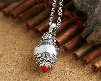 925 STERLING SILVer Cremation  jewelry charm Pendant/Keepsake/Urn/ Ash P156