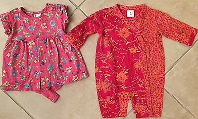 Lot of 2 Hanna Andersson outfits, size 60, EUC