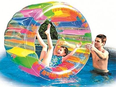 Water Wheel - Giant Inflatable Swimming Pool Water Wheel Toy (49.2 X 33 )