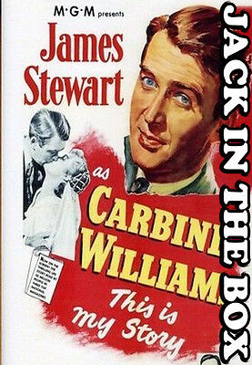 Carbine Williams DVD NEW, FREE POSTAGE WITHIN AUSTRALIA REGION ALL