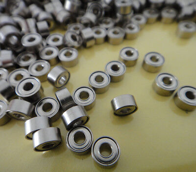 1Pcs Standard Ball Bearing 2 x 5 x 2.5mm  Miniature Model Bearing Mini