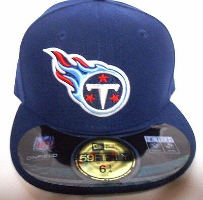 innovative design 7504f ceae8 NEW ERA 59Fifty Tennessee Titans NFL Football Baseball Hat Cap Size 7 5 8 6