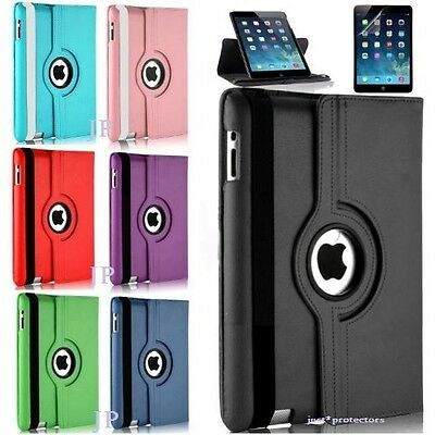 """Rotate 360 Leather Folding Smart Case Cover for Apple iPad Air 1 2 5 6 9.7"""""""