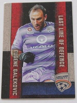 2016/17 A-League Trading Cards - Eugene Galekovic (Last Line of Defence LL-03)