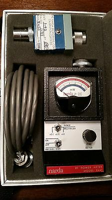 Narna mini RF power meter 8441, with manual & extra thermocouple. Excellent cond