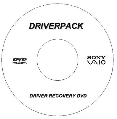 Sony Vaio  Drivers Disc Driver Recovery For Windows 7 8 10 32/ 64 Bit Dvd