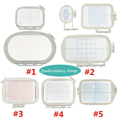 Various Embroidery Medium Hoop Set for Brother/Bernina Aurora/Designer Machine