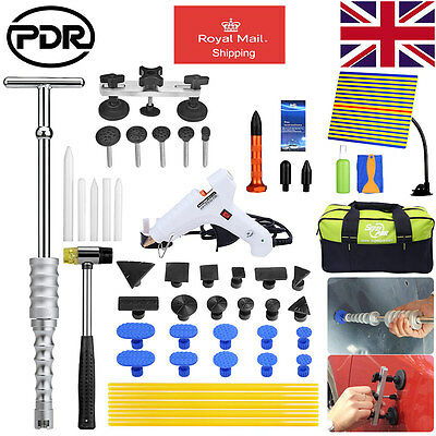 UK PDR Paintless Dent Removal Slide hammer Pulling bridge Kit Dent Hagel Repair