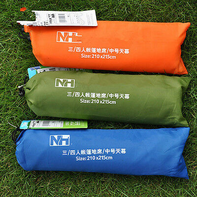 1.5*2.15M 3-4 Person Outdoor Picnic Camping Hiking Mat Beach Tent Awning RF