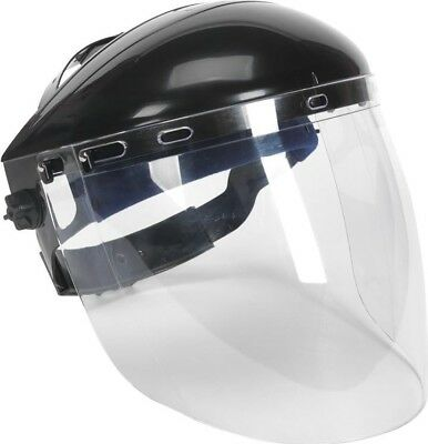 Sealey Deluxe Browguard Aspherical Polycarbonate Full Face Shield | Safety