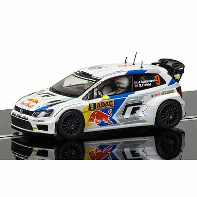 C3633 Scalextric Slot Car VW Volkswagen Polo WRC Andreas Mikkelsen - New & Boxed