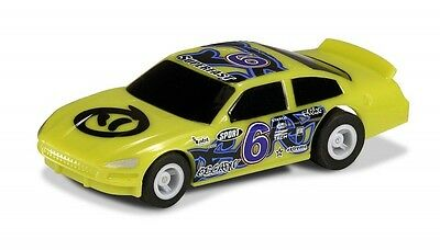 G2158 Micro Scalextric Slot Car US Stock Car - Green 6 - Brand New in Packet UK