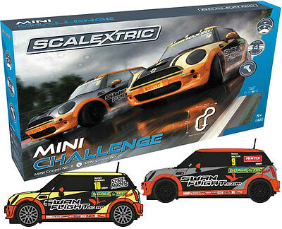 C1355 Scalextric Slot Cars 1:32 Mini Challenge Race Set - Brand New & Boxed UK