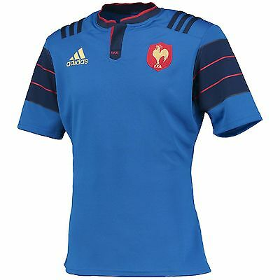 Adults 2XLarge France Rugby Home Shirt H35