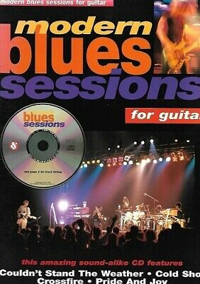 Partition+CD pour guitare -  Modern Blues Sessions for Guitar