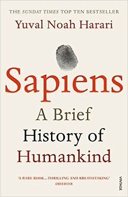 Sapiens: A Brief History of Mankind by Yuval Noah Harari (NEW)