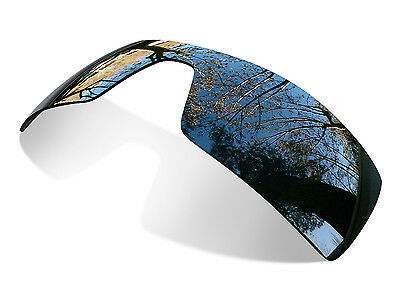 Fit&See Polarized Black Replacement Lenses for Oakley Oil Rig