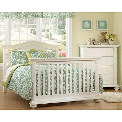 Baby Cache Heritage Full Size Bed Conversion Kit - White
