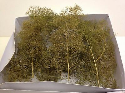 War World Scenics Small Seafoam Trees 75mm - Sea Foam Modelling Scenery Terrain