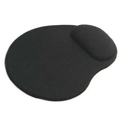 Black Mouse Mat/Pad Ergonomic Comfort Pad Computer PC Accessories Small