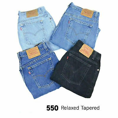 Vintage Levis 550 High Waisted Womens Relaxed Tapered Mom Jeans 26 27 28 29 30 3