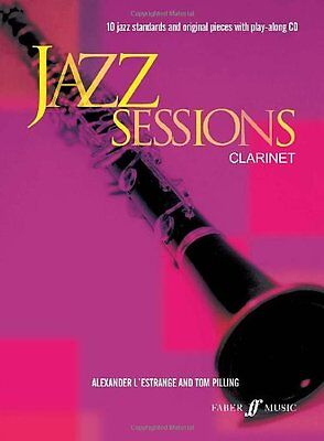 Partition+CD pour clarinette - Jazz Sessions Clarinet