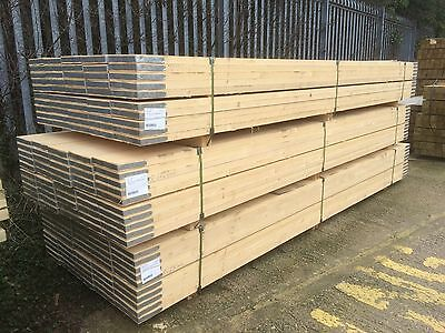 38m x 225mm x 3900mm New Scaffold Planks / Boards - Edge Banded