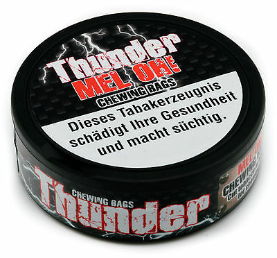 Thunder Mel OH! Chewing Bags, 17,6 g Dose  Kautabak * Kein Snus *