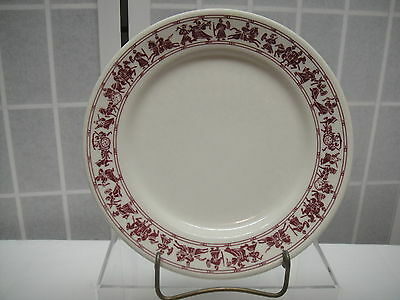 Buffalo China Plate, Restaurant Ware, 609A, Chariots, Jousting, Carriage