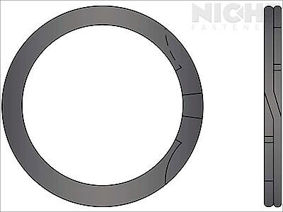 Spiral Retaining Ring Internal MD 4 Steel (8 Pieces)