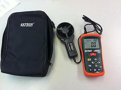 EXTECH AN200 CFM/CMM Mini Thermo-Anemometer w/ InfaRed Thermometer