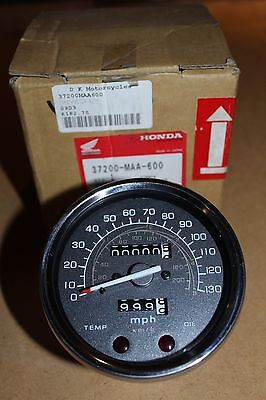 Honda VT1100C Shadow 1994-96 MPH Speedometer Clock Unit 37200-MAA-600