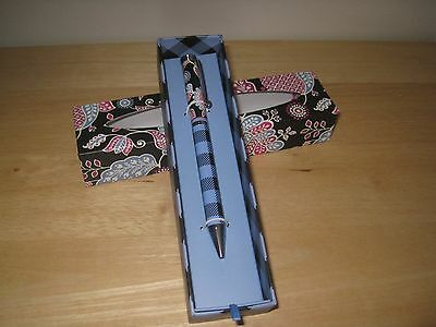 Vera Bradley - Ball Point Pen in Alpine Floral, New in Box   Great Gift Idea!!