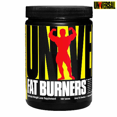 Universal Fat Burners 100 Tablets Non-Stimulant Fat Burner Reduction Weight Loss