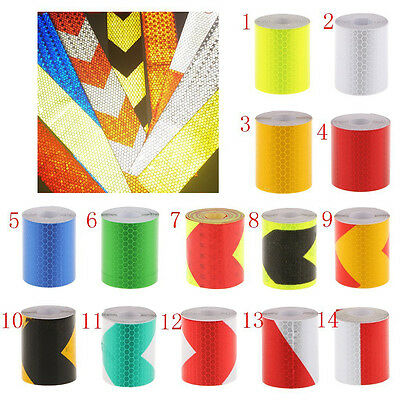 New Night Reflective Safety Warning Conspicuity Tape Film Car Sticker 5cm 3M
