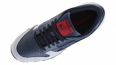 d769a924a378 Men s Reebok CLASSIC LEATHER GN Collegiate Navy Cloud Grey Alloy BD4415