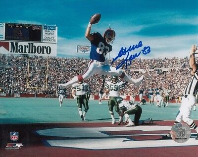 ANDRE REED AMERICAN FOOTBALL NFL BUFFALO BILL SIGNED 10x8 INCH LAB PRINTED PHOTO