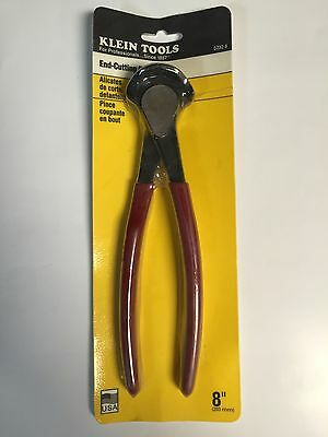 """Klein Tools D232-8 8"""" End Cutting Pliers"""